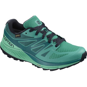 Salomon Sense Escape GTX Shoes Women Tropical Green/Atlantis/Deep Lagoon